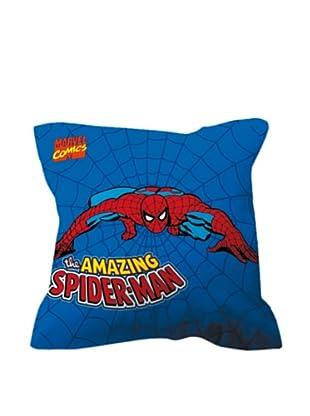 Euromoda Cojín Con Relleno Spiderman 1 (Azul / Rojo)