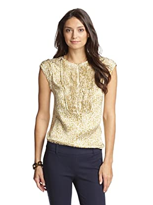 Paperwhite Women's Pop The Cork Applique Blouse (Multi)
