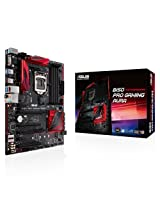 Asus B150 Pro Gaming/AURA - 6th Generation Motherboard (LGA1151, DDR4 2133Mhz upto 64GB Support, Full ATX Board)