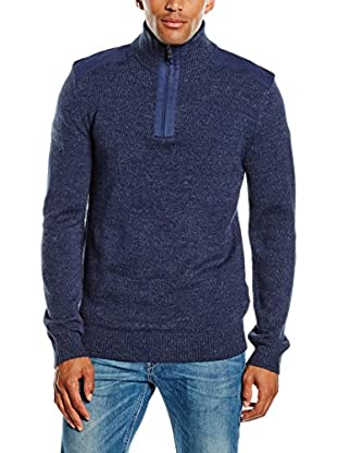 PAUL STRAGAS Jersey Zip Neck