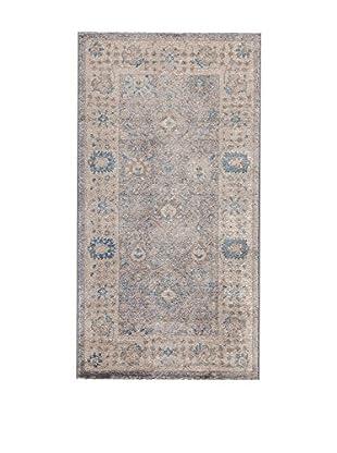 ABC Tappeti Teppich blau/braun 80 x 150 cm