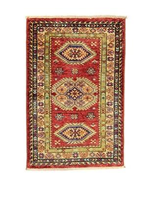 L'Eden del Tappeto Teppich Kazak Super rot 90t x t60 cm