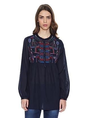 Peace & Love Camisa Ko Chang (Azul Marino)