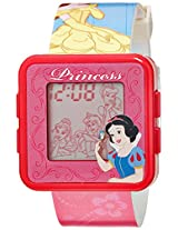 Disney Digital Multi-Color Dial Girls's Watch - PSSQ797-01B