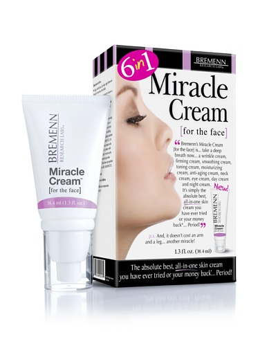 Bremenn Research Labs Miracle Cream 6 in 1, 1.3 oz