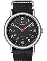 Timex Weekender Indiglo Analog Black Dial Unisex Watch - T2N647