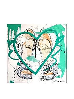 Oliver Gal Cinderella Remix Canvas Art