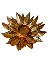 Artistique antique design lotus shape decorative Metal Tea Light Holders