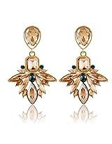 Champagne Gold Zircon Earring