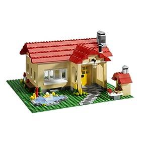 レゴブロックで家が作れるセットの組み替え例
