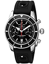 Breitling Men's A2337024-BB81RU Analog Display Swiss Automatic Black Watch