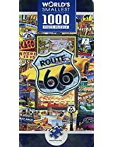 Masterpieces Route 66 World's Smallest 4 x 8 Tin Jigsaw Puzzle (1000-Piece) by Masterpieces Puzzle Co.