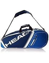 Head Core 6R Combi Kit Bag - Navy Blue/Blue