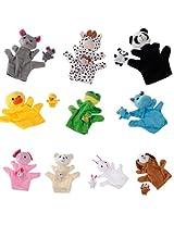 Imported 10pcs Hand Finger Puppet Set