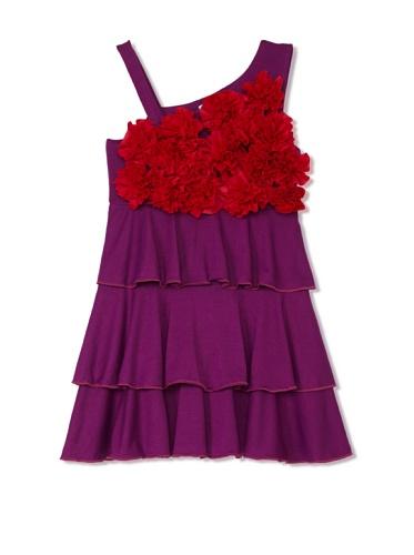 Lilo Girl's Delirium Dress (Purple/Fuchsia)