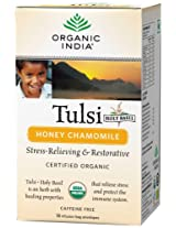 Organic India Tulsi - 18 Tea Bags (Honey Chamomile)