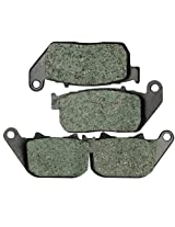 2010-2011 Harley Davidson Sportster XL 1200 X Forty Eight Front and Rear Kevlar Carbon Brake Pads