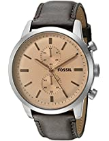 Fossil End-of-season Townsman Analog Black Dial Men's Watch - FS5156
