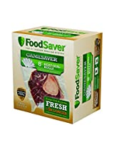 "FoodSaver GameSaver 6-Pack, 8"" x 20' Long Rolls"