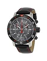 Tissot PRS 200 Chronograph Black Dial Men's Watch (T0674172605100)