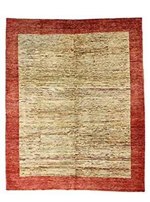 Bashian Rugs Hand Knotted One-of-a-Kind Pak Gabbeh Rug, Beige, 8' x 9' 7