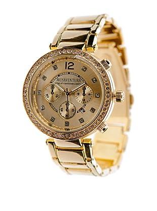 MUSAVENTURA Reloj Glanz  Dorado
