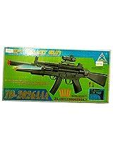 Adraxx Soft Dart Bullet Firing Semi-Auto Toy Gun (Brown)
