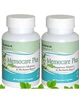 Morpheme Memocare Plus Supplements to Sharpen Brain & Memory - 500mg Extract ...