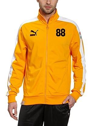 Puma Trainingsjacke Football Archives T7 (flame orange-white-nl)