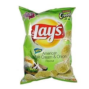 Lays American Style Cream Onion - Green 56gms