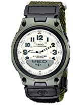Casio Youth-Combination Analog-Digital Multi-Color Dial Men's Watch - AW-80V-3BVDF (AD183)
