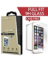 Icarez Privacy Tempered Glass Highest Quality Screen Protector For Iphone 6 Plus - White