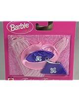 Mattel Barbie Fashion Touches Purple Purse Set