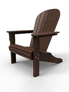 Malibu Outdoor Furniture Jamestown Adirondack Chair (Dark Brown)