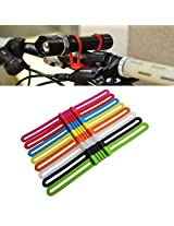 Silicone Flexible stretchable Bike/Bicycle Strap for Phones, Flashlights torches etc