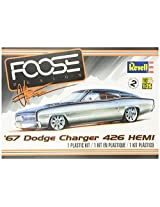 Revell 67 Dodge Charger 426 Hemi Plastic Model Kit