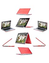 "iPearl mCover Hard Shell Case for 13.3"" Dell Inspiron 13 7347 / 7348 2-in-1 Convertible Laptop (RED)"