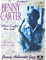 Vol. 87, Benny Carter: When Lights Are Low (Book & CD Set)