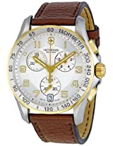 Victorinox Swiss Army Men's 241510 Silver Dial Chronograph Watch