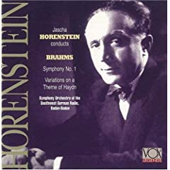 Horenstein - Brahms: Symphony No.1 / Variations on a Theme of Haydn