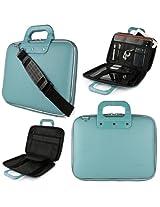 Sumaclife Blue Cady Briefcase Bag