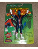 Nightcrawler Figure - Bend-Ems - Uncanny X-Men Series - 1991 - Very Rare - Bendable, Posebale Figure - Marvel - Just Toys - Mint - Limited Edition - Collectible