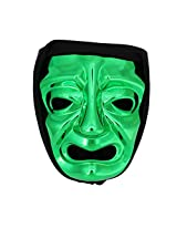 300 Immortal Mask with Hood - Green - Frightening Cosplay Face Halloween