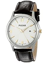 Pulsar Men's PH9073 Analog Display Analog Quartz Brown Watch