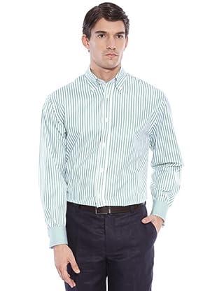 Hackett Camicia Righe (Verde/Bianco)