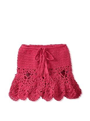 H. Maude Girl's Picnic Posse Skirt (Fuchsia)