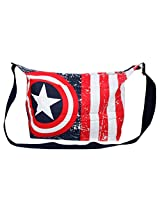 Marvel Canvas White  Gym Bag (8906059806186)