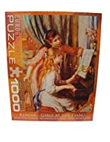 Eurographics Renoir Girls At The Piano 1000 Piece Jigsaw Puzzle