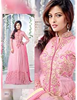 Rozdeal Different Look of Embrodery Party Wear Anarkali Suit