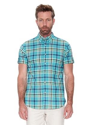 Cortefiel Camisa Cuadros Tipo Madras